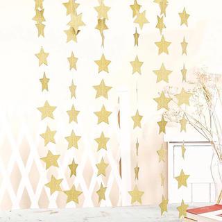 星 スター ガーランド ゴールド 4メートル