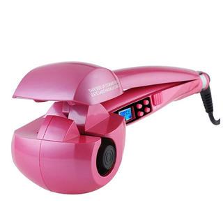 H-POWER ヘアアイロン オートカール 海外対応(ピンク)(ヘアアイロン)