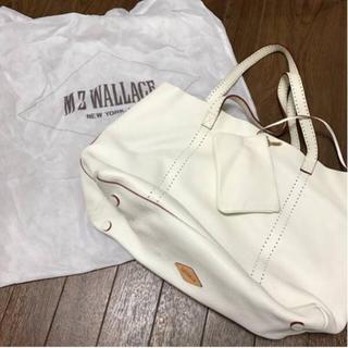 エムジーウォレス(MZ WALLACE)のMZ WALLACE オール レザー トート バック ポーチ&保存バック付 本革(トートバッグ)