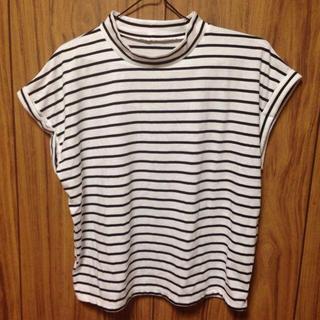ジーユー(GU)のボーダーTシャツ(シャツ/ブラウス(半袖/袖なし))