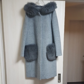 ジャスグリッティー(JUSGLITTY)のJUSGLITTY ポケットファーコート 2(毛皮/ファーコート)