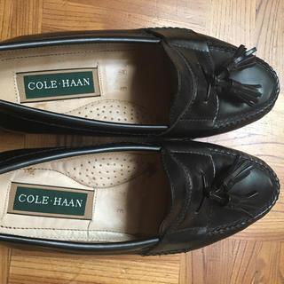コールハーン(Cole Haan)のコールハーン タッセルローファー 黒(ドレス/ビジネス)
