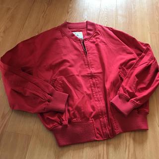 ケティ(ketty)の赤 刺繍入りブルゾン ♡(ブルゾン)