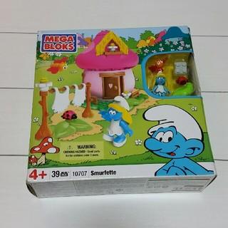 スマーフ ブロック toy(キャラクターグッズ)