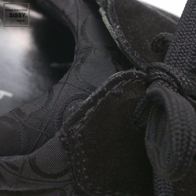 Salvatore Ferragamo(サルヴァトーレフェラガモ)のフェラガモ スニーカー ガンチーニ スエード ナイロン 黒 9(26.5cm) レディースの靴/シューズ(スニーカー)の商品写真
