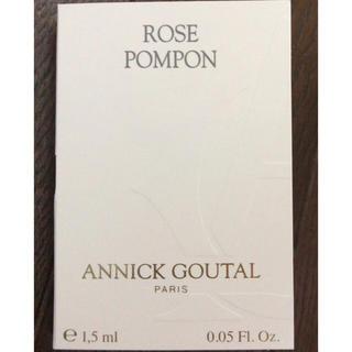 アニックグタール(Annick Goutal)のANNICK GOUTAL ローズポンポン 1.5ml 新品(香水(女性用))