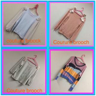 クチュールブローチ(Couture Brooch)の可愛い4点セット♡お買い得(ニット/セーター)