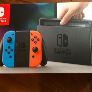 ニンテンドースイッチ(Nintendo Switch)の新品未開封 Nintendo Switch ニンテンドースイッチ 本体(家庭用ゲーム機本体)