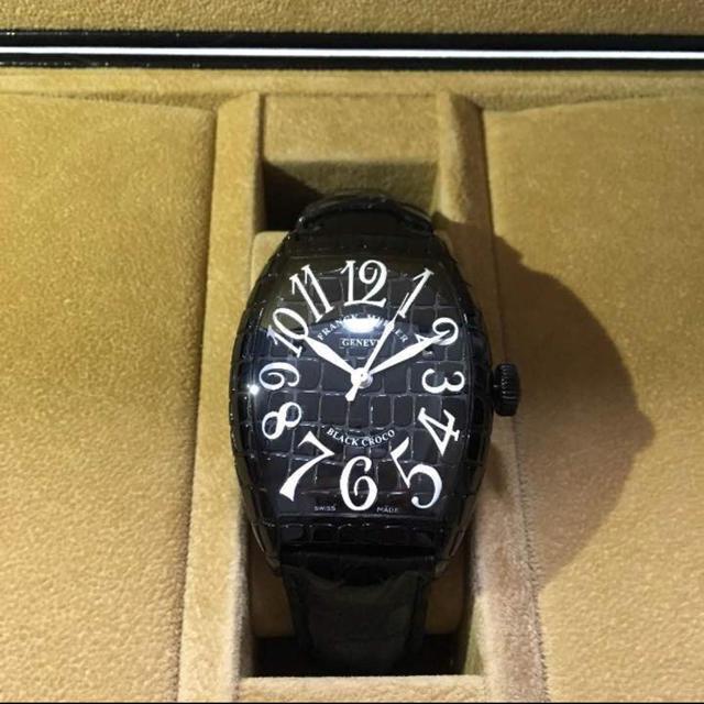 FRANCK MULLER(フランクミュラー)のフランクミュラー ブラッククロコ 8880 メンズの時計(腕時計(アナログ))の商品写真