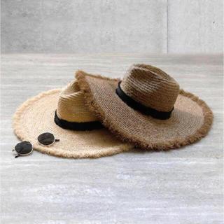 ルームサンマルロクコンテンポラリー(room306 CONTEMPORARY)のフリンジハット(麦わら帽子/ストローハット)
