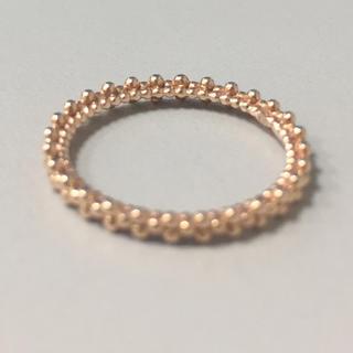アガット(agete)のふりるさま用(ピンキーリング、ネックレスおまとめ)(リング(指輪))