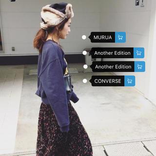 トゥデイフル(TODAYFUL)の新品 MURUA フライトキャップ 完売 yanさん着用 todayful(キャップ)