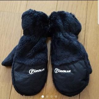 チロリア(TYROLIA)のTYROLIA キッズ手袋☆XS☆美品(手袋)