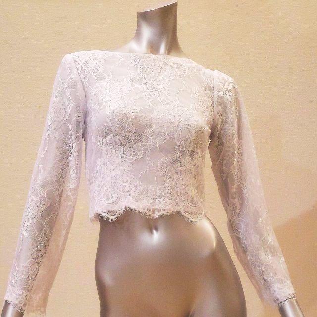 わっかちゃん様専用ページ オーダーボレロ レディースのフォーマル/ドレス(ウェディングドレス)の商品写真