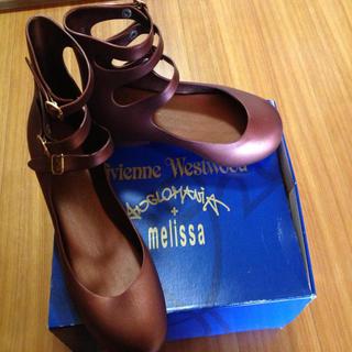 ヴィヴィアンウエストウッド(Vivienne Westwood)のVivienne バレーシューズ(ハイヒール/パンプス)