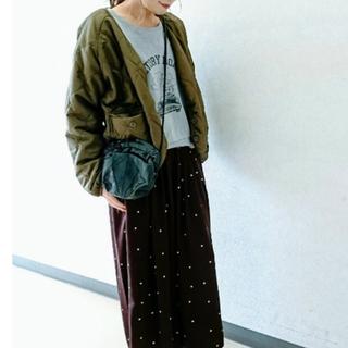 シマムラ(しまむら)の新品★しまむら ショート丈キルティングジャケット(ブルゾン)