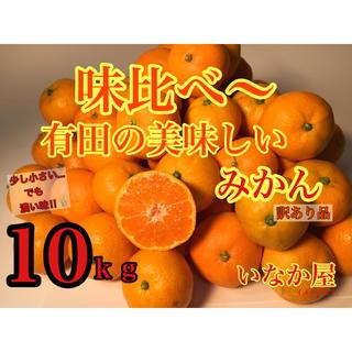 旨い みかん 有田みかん 訳あり品10kg(フルーツ)