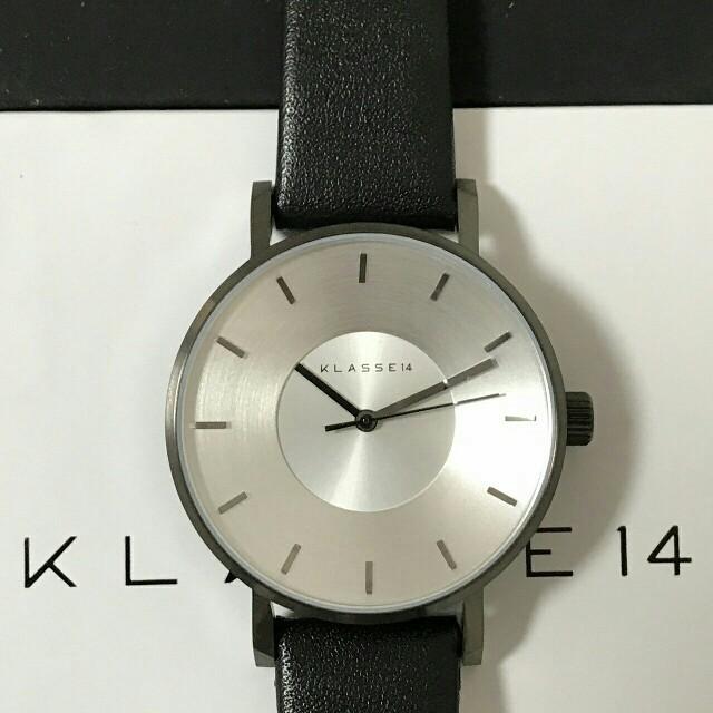 プレゼント✨VOLAREシリーズブラックベルト✨クラス14✨腕時計 ユニセックス レディースのファッション小物(腕時計)の商品写真