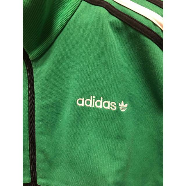 adidas(アディダス)のadidas アディダスオリジナルス グリーン 緑 ジャージ メンズのトップス(ジャージ)の商品写真