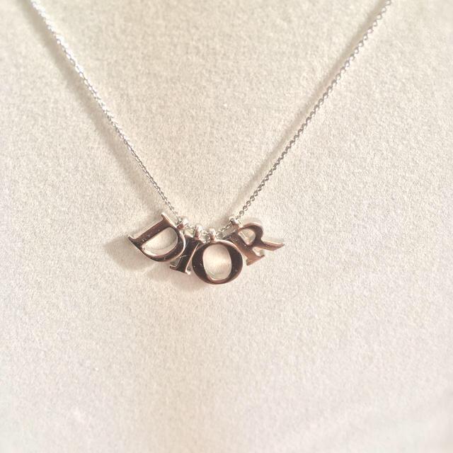 wholesale dealer 2e245 5b7ae 【Dior】ネックレス シルバー色【ディオール】 | フリマアプリ ラクマ