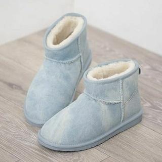 エミュー(EMU)の★新品★ emu エミュー シープスキンブーツ デニムブーツ 8サイズ 25cm(ブーツ)
