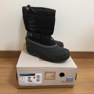 ソレル(SOREL)のれちぶ様専用💕これからの季節に‼️SO RELウィンターブーツ20cm(ブーツ)