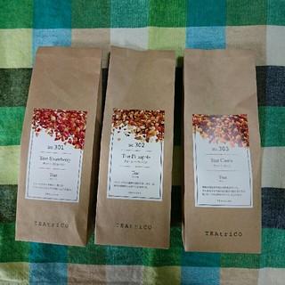 大人気の食べれる紅茶 ティートリコ (TEAtrico) 50g色々3点セット(茶)