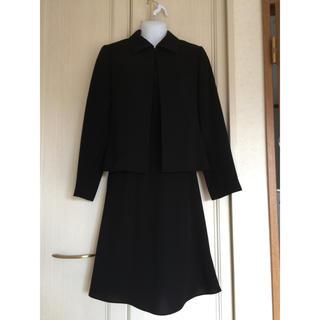 アールユー(RU)の美品  9号  ブラックフォーマル(礼服/喪服)
