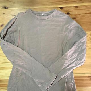 ムジルシリョウヒン(MUJI (無印良品))の無印のトップスです。(Tシャツ/カットソー(七分/長袖))