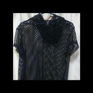 ファンキーフルーツ(FUNKY FRUIT)のフード付きメッシュパーカー(Tシャツ(半袖/袖なし))