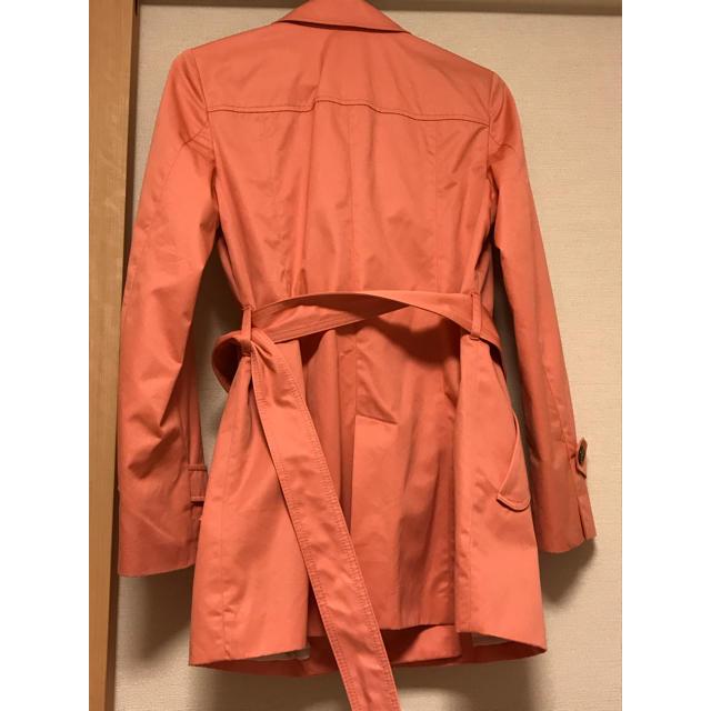 kumikyoku(組曲)(クミキョク)の組曲 トレンチコート ピンク レディースのジャケット/アウター(トレンチコート)の商品写真