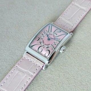 フランクミュラー(FRANCK MULLER)のフランク・ミュラー☆ロングアイランド  902QZ SS クォーツ 中古品☆美品(腕時計)