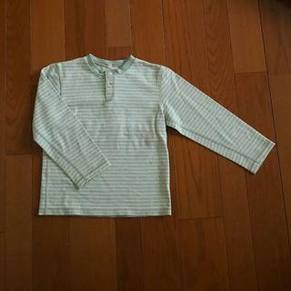 ムジルシリョウヒン(MUJI (無印良品))の美品☆無印良品 長袖Tシャツ130(その他)