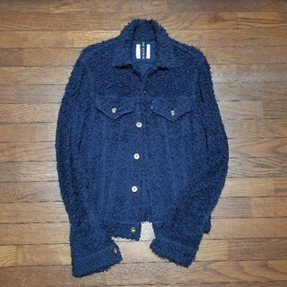 マディソンブルー(MADISONBLUE)のMADISON BLUE パイルジャケット(Gジャン/デニムジャケット)
