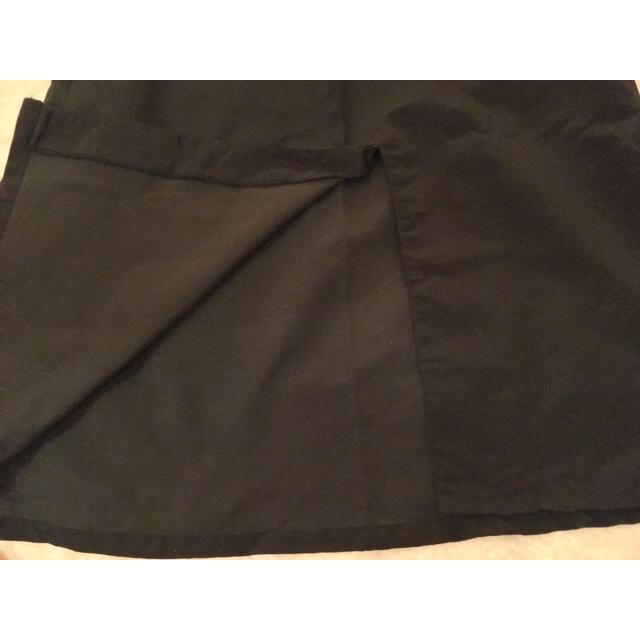 ブラックノースリーブロングワンピース レディースのワンピース(ロングワンピース/マキシワンピース)の商品写真