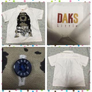 セリーヌ(celine)のDAKS 半袖 シャツ 100サイズ ミニチュアダックス 犬(その他)