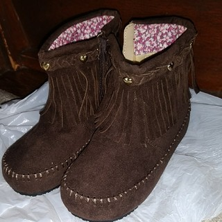 ムジルシリョウヒン(MUJI (無印良品))のブーツ 18cm 新品(ブーツ)