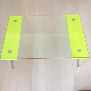 ガラスローテーブル(ローテーブル)