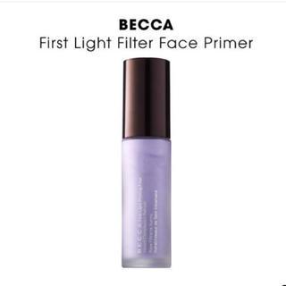 セフォラ(Sephora)のbecca 新作 First Light Filter Face Prime(化粧下地)