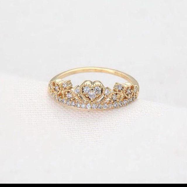 ✨クラウンハートリング✨ レディースのアクセサリー(リング(指輪))の商品写真