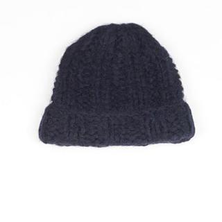 アクネ(ACNE)のacne ニット帽 アクネ 新品 値下げ(ニット帽/ビーニー)