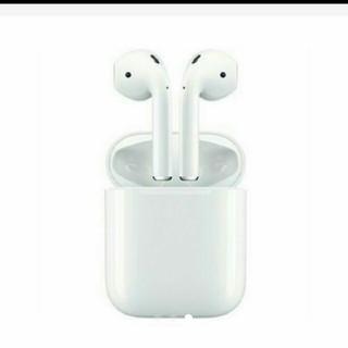 アイフォーン(iPhone)の A専用 Apple AirPods 完全ワイヤレスイヤホン MMEF2J/A(ヘッドフォン/イヤフォン)