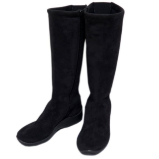 アルコペディコ(ARCOPEDICO)の【新品】 アルコペディコ L'ライン L9(ロングブーツ) ブラック 36(ブーツ)