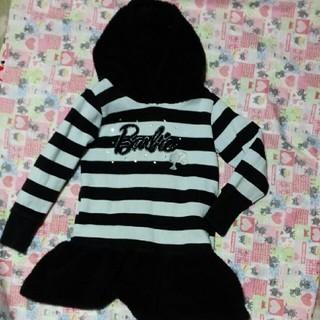 バービー(Barbie)のhitomi1028様、専用120バービー暖かワンピース(ワンピース)