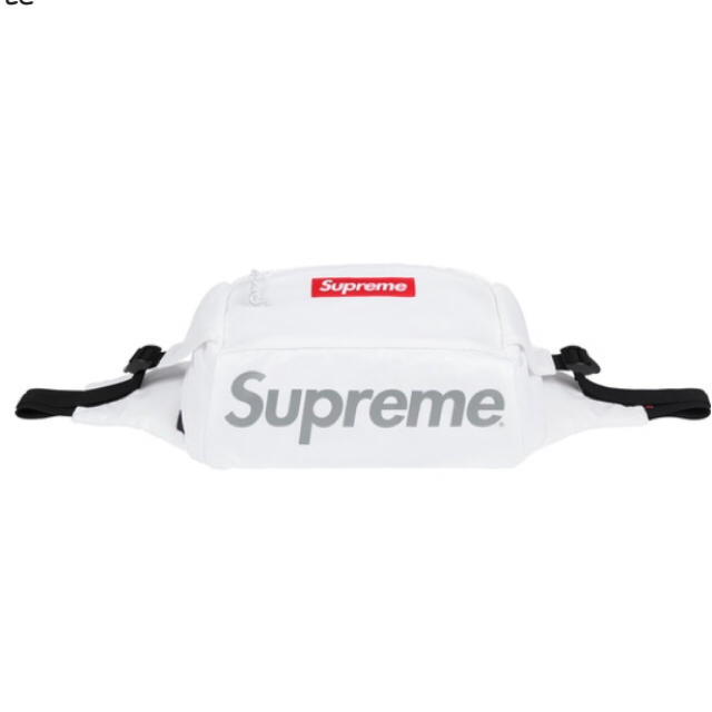 Supreme(シュプリーム)の17fw supreme  ウエストバッグ 白 メンズのバッグ(ウエストポーチ)の商品写真
