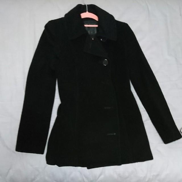 UNTITLED(アンタイトル)のUNTITLED の黒コート レディースのジャケット/アウター(ロングコート)の商品写真