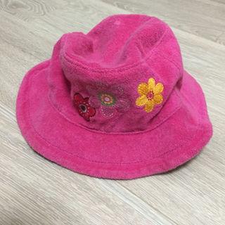 ギャップ(GAP)のbaby gap 女の子用 ピンク色のハット 44cm(帽子)