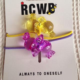 ロデオクラウンズワイドボウル(RODEO CROWNS WIDE BOWL)の新品 ロデオクラウンズ キャンディー ヘアゴムRCWB(その他)