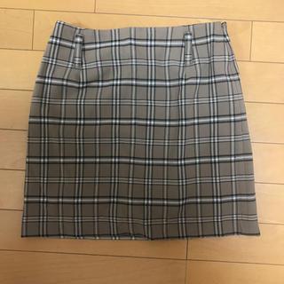 レディアゼル(REDYAZEL)のバーバリーチェック風スカート♡ベージュ(ミニスカート)