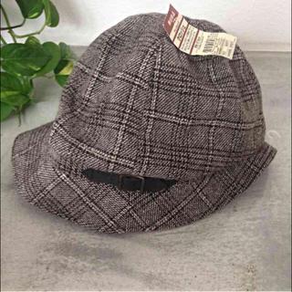 ムジルシリョウヒン(MUJI (無印良品))の新品♡無印良品クロシェ(ハンチング/ベレー帽)
